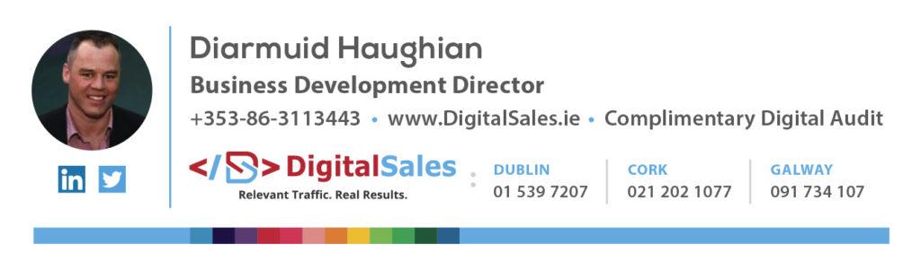 Diarmuid Haughian - Magento eMail Signature